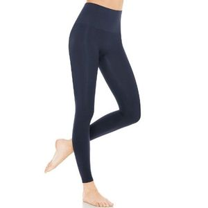 ASSETS BY SPANX RED HOT SEAMLESS LEGGINGS- INDIGO